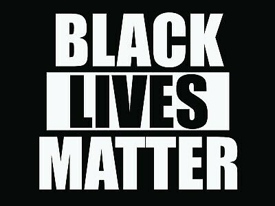 """Black Lives Matter - Yard Sign - Double Sided - 18""""x24"""""""