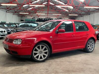 2001 Volkswagen Golf 2.0 GTI 5dr Hatchback Petrol Manual