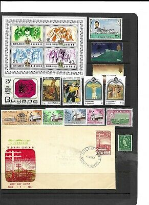 Commonwealth QE2 m/mint and MNH collection