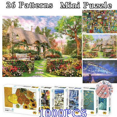 Jigsaw Puzzles Papery Assembling Picture Educational Toys for Adult Kids Game