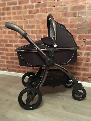 Brand New Egg Pram/stroller Frosted Steel Maxi Cosi Car Seat
