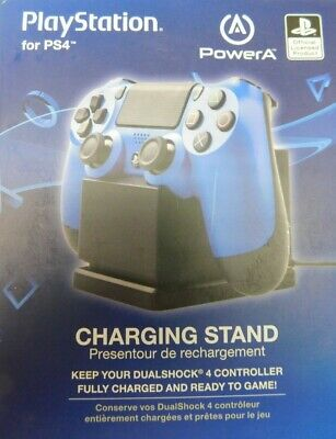 Power A Single Charging Station For PlayStation 4 Dualshock 4 Controller