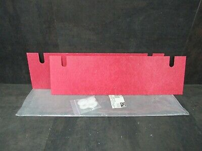 "New CPI Chatsworth 10605-019 Rack Isolation Kit 19"" Red"
