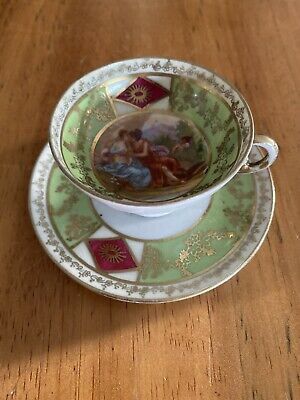 Victoria China Cabinet Cup And Saucer