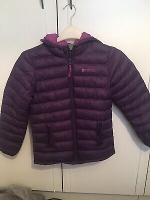 Girls Mountain Warehouse Padded Jacket Age 7-8 Yrs Excellent Condition