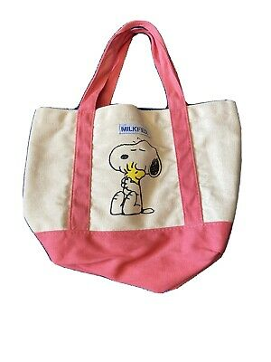 Milkfed Snoopy Mini Tote Bag Happiness Is A Thoughtful Friend From Japan