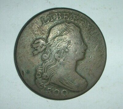 1800 Draped Bust Large Cent