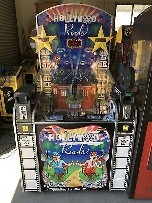 ****** Hollywood Reels Ticket Redemption Arcade Video Game ******