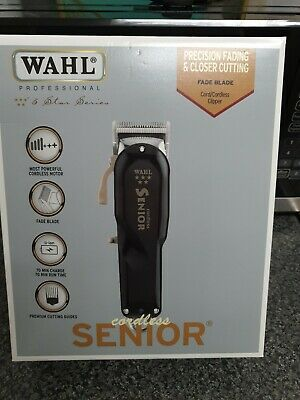 Wahl 8504-830 5 Star Senior Cordless Hair Clipper BRAND NEW SEALED