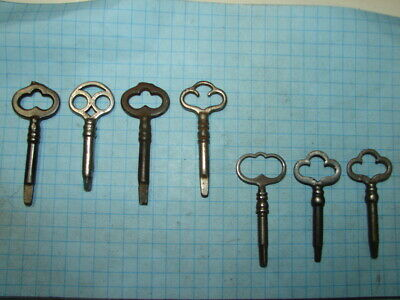 7 Sewing Machine Keys - 4 - Triangle - 3 - Square - Singer