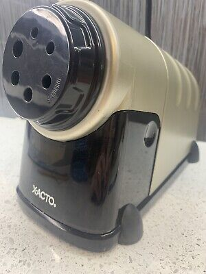 X-Acto Model 41 High Volume Commercial Quality Electric Pencil Sharpener ~ Xlint