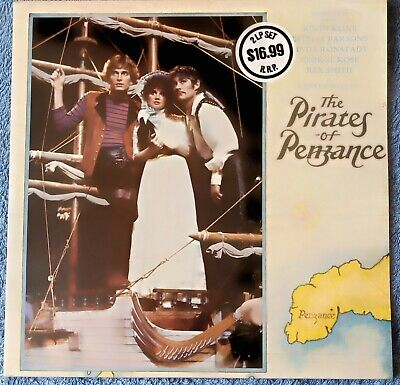 The Pirates Of Penzance 2 Vinyl LP Live Stage Recording 1981