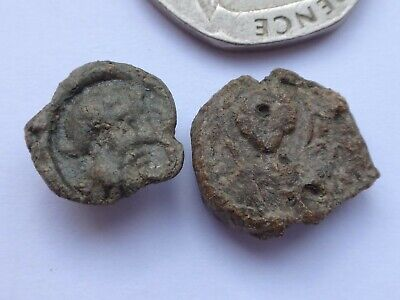 Lot of Two Byzantine Lead  Seals.      45