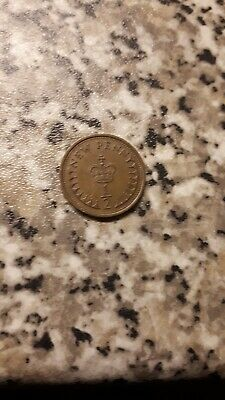 Half new penny coins 2 off 1978   1980