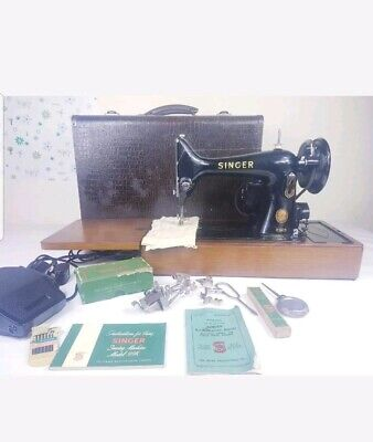1952 Singer 99K Sewing Machine, Just Had £49 Service , Good Condition