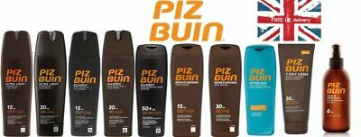 PIZ BUIN SUN Sprays Or Lotions SPF 6/15/30/50 And After Sun 200/150ml. Brand New