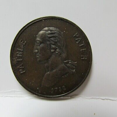 G Washington Providence Left Him Childless Gw-226 B 94A 29Mm Copper