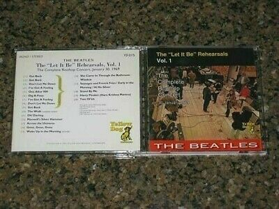 BEATLES - The Let It Be Rehearsals Vol. 1 Complete Rooftop Concert CD-6006