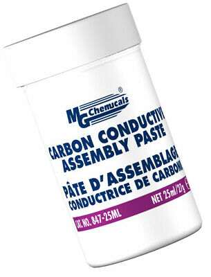 MG Chemicals Carbon Conductive Assembly Paste, 25mL Jar