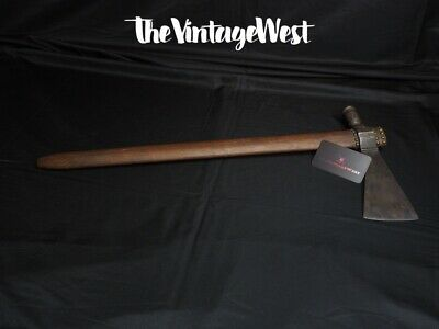 LATE 1800s SPOTTED ANTIQUE NATIVE AMERICAN PLAINS INDIAN FORGED PIPE TOMAHAWK