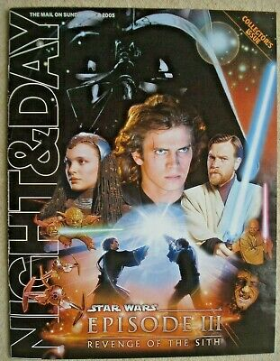 Star Wars Episode III Revenge of the Sith Collectors Issue MOS Night & Day 2005