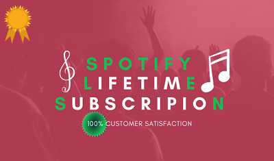 Spotify Premium Upgrade   Lifetime   Instant Delivery   New/Existing Account