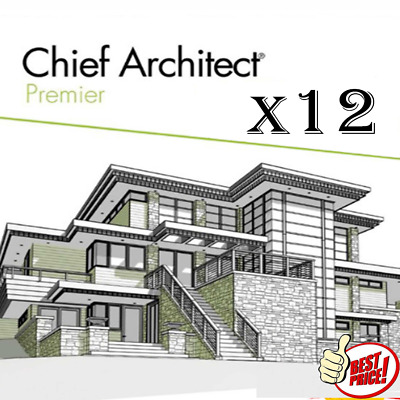 Chief Architect Premier X12 🔥2020 Version 🔥Life time License 🔥Delivery 30s🔥