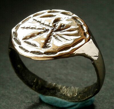 PERFECT MUSEUM CONDITION GENUINE ROMAN Æ RING - wearable