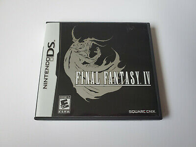 Final Fantasy 4 Nintendo DS - Complete, Authentic, Tested