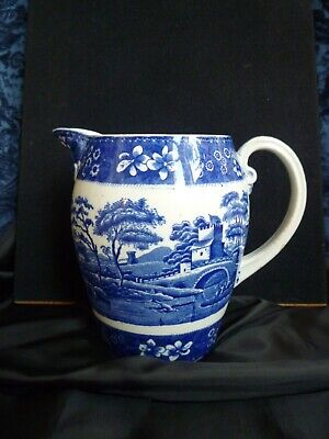 Vintage Copeland Spode's Tower Jug, Galloway Shape, 6.5 ins tall
