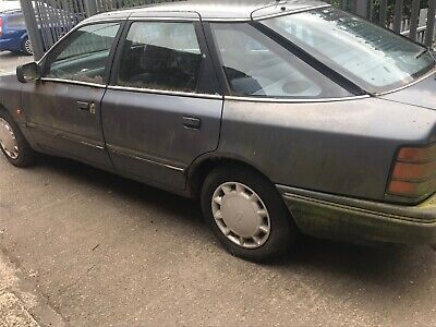 Ford Granaga 2Li Ghia X.1988 F Reg.Barn Find.RS 2000 engine.Like Sierra Cosworth