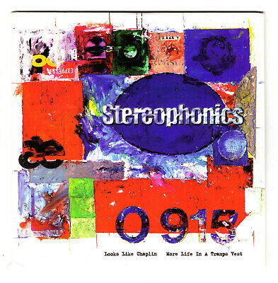 STEREOPHONICS - Looks Like Chaplin / More Life In A Tramps Vest - CD Single