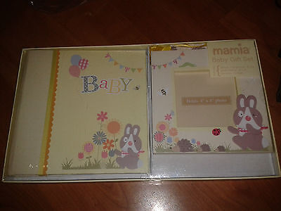2 Baby Photo Frame/ Photo Album And Bunting. Boxed And New