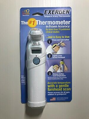 Exergen Temporal Scanner Thermometer