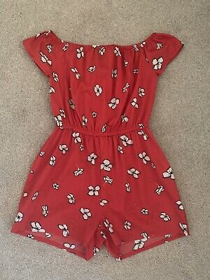NEW LOOK 915 Girls Playsuit Age 10 Years **BNWOT **