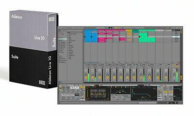 Ableton Live 10 Suite License Transfer + Arturia Analog Lab Lite + Rev PLATE-140