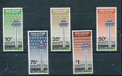 Singapore 1981 Changi Airport Serie Cpl Mnh**