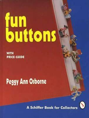 Vintage Fun Buttons Collector Guide inc Victorian Unusual Shapes, Animals & More