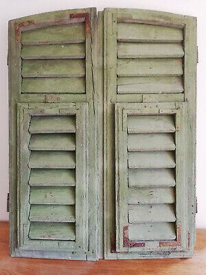 Vintage Wooden Shutters, in beautiful rustic working condition