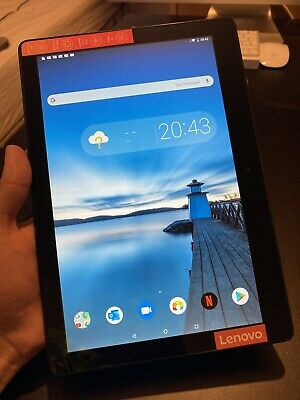 "Lenovo Tab E10 HD 10.1"" 2GB 16GB Android Tablet, black, WiFi, Perfect Condition"