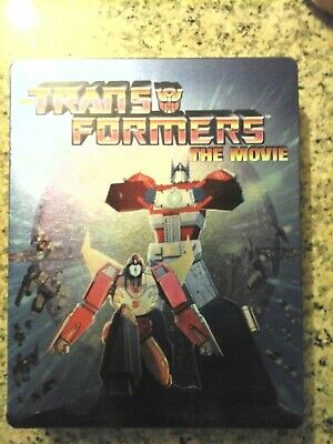Transformers, The Animated Movie. Collector's Bluray Steel-book edition