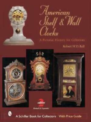 American Shelf Wall Clocks book Mantle Seth Thomas MORE