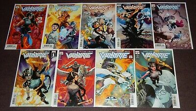 VALKYRIE: JANE FOSTER 9-Issue Set by Jason Aaron & Al Ewing