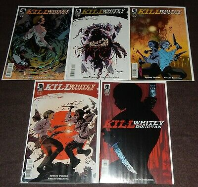 KILL WHITEY DONOVAN Complete 5-Issue Set by Sydney Duncan & Natalie Barahona