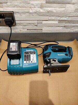 Makita 18v LXT DJV180 Jigsaw. Cordless jigsaw with battery and charger