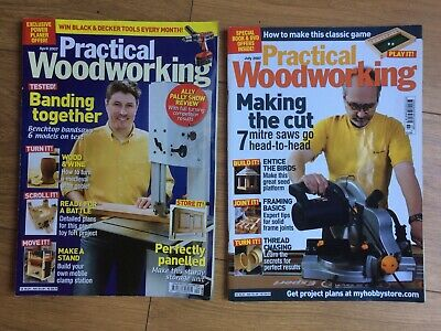 Practical Woodworking magazines: April and July 2007