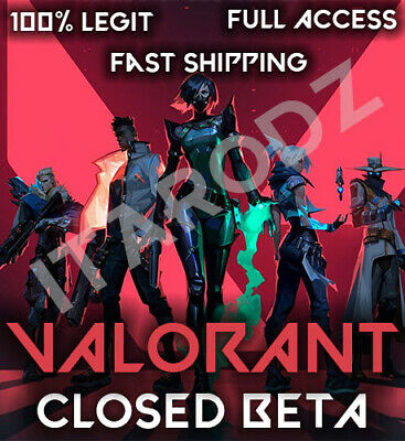 Valorant Closed-Beta💎FULL ACCESS 🔑 [NA] 🕗 24/7 INSTANT DELIVERY 💯Warranty
