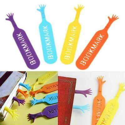 Help Me Novelty Bookmarks Page Markers Gift Set 4PCS L0Z0
