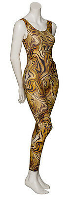 KDC016 Variety Of Animal Prints Sleeveless Footless Dance Catsuit By Katz