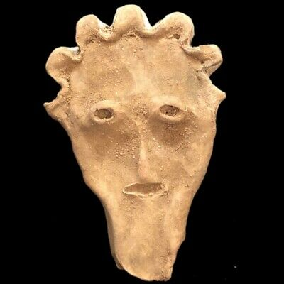 Ultra Rare Huge Stone Age Ancient Neolithic Anthropomorphic Idol 4500BC (1)